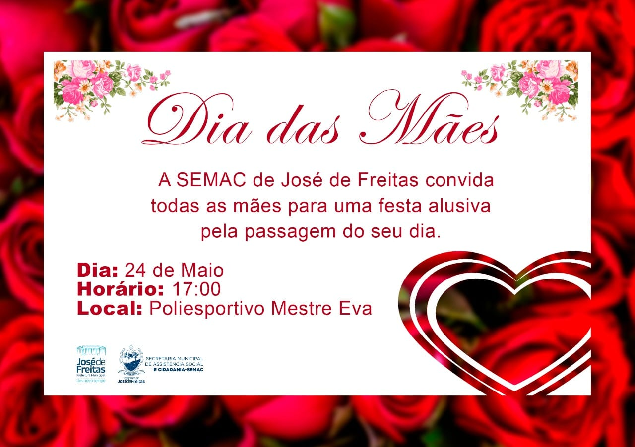 Prefeitura realizará festa das Mães