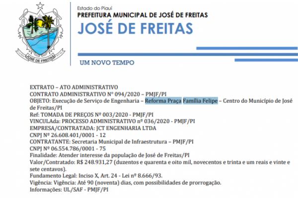 CONTRATO ADMINISTRATIVO N° 094/2020 – PMJF/PI